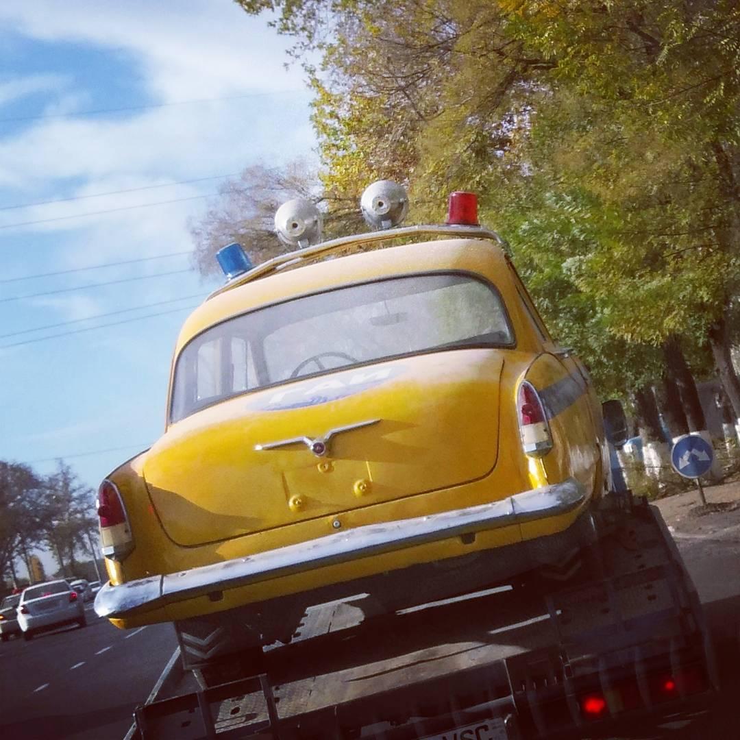 ГАЗ-21 ГАИ СССР